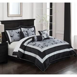 Pastora Silver 7-piece Bedding Comforter Set