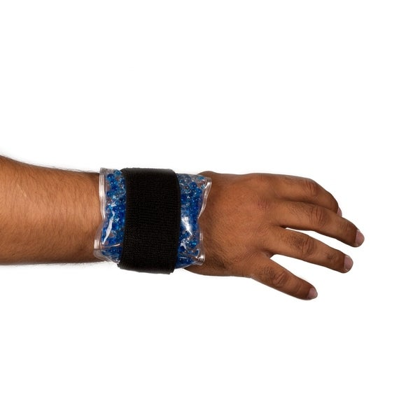 Hot and Cold Gel Bead Pack for Wrist or Ankle