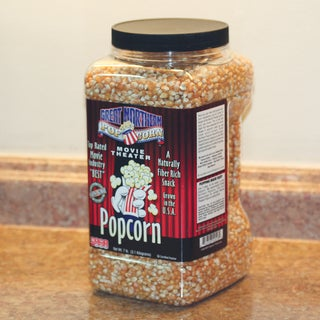 Great Northern Popcorn 7 Pound Premium Yellow Gourmet Popcorn Jug