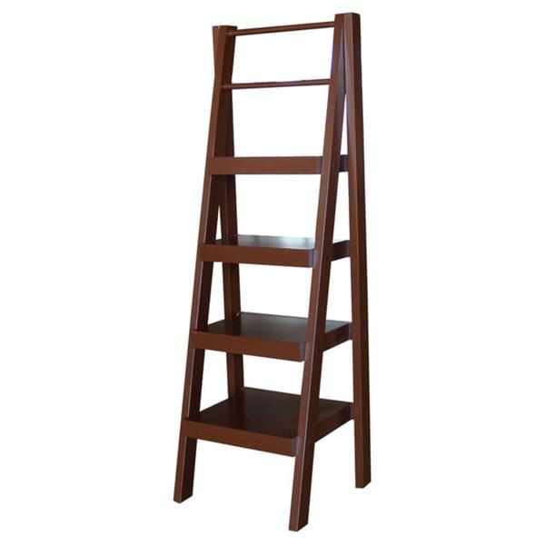Sante Fe 4 Shelf Ladder Storage Unit