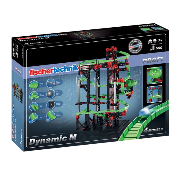 Fischertechnik Dynamic M STEM Set 550 pieces