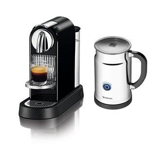 Nespresso A+D111-US-BKNE1 Citiz Espresso Maker with Aeroccino Plus Milk Frother Black