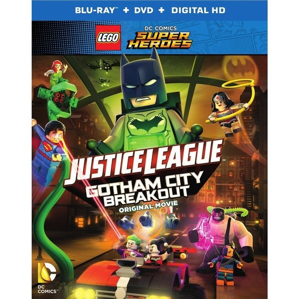 LEGO DC Comics Super Heroes: Justice League: Gotham City Breakout (Blu-ray Disc) 18230312