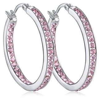Inside Outside Hoop Earrings