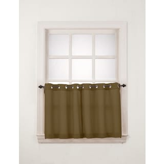 No. 918 Montego Grommet Window Tier (Pair)