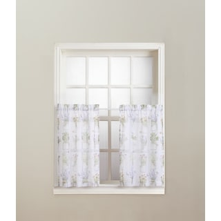 No. 918 Eve's Garden Rod Pocket Window Tier (Pair)