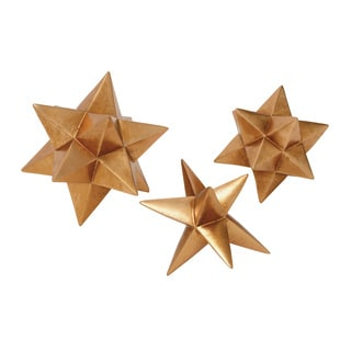 Polystyrene And (Set of 3) Star Decor 5-inch/ 6-inch/ 8-inch