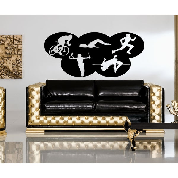 Olympic sports Wall Art Sticker Decal