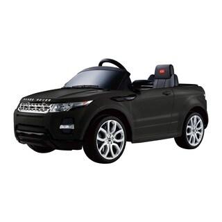 Best Ride On Cars 12V Black Range Rover Evoque