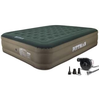 "Pittman Queen 16"" Indoor/Outdoor Air Mattress w/Electric Pump"