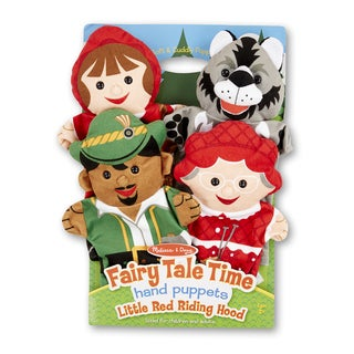 Melissa & Doug Fairy Tale Time Hand Puppets Little Red Riding Hood