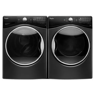 Whirlpool laundry pair with 4.5 cu ft washer and 7.4 cu ft ELECTRIC dryer