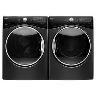 Whirlpool laundry Pair with 4.5 Cubic Feet Washer and 7.4 Cubic Feet Gas Dryer