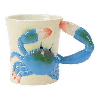 18oz Blue Crab Mug