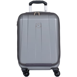 Delsey Helium Shadow 3.0 Platinum 19-inch Expandable Hardside International Carry On Spinner Suiter Laptop Suitcase