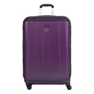 Delsey Helium Shadow 3.0 Purple 29-inch Expandable Hardside Spinner Suiter Suitcase