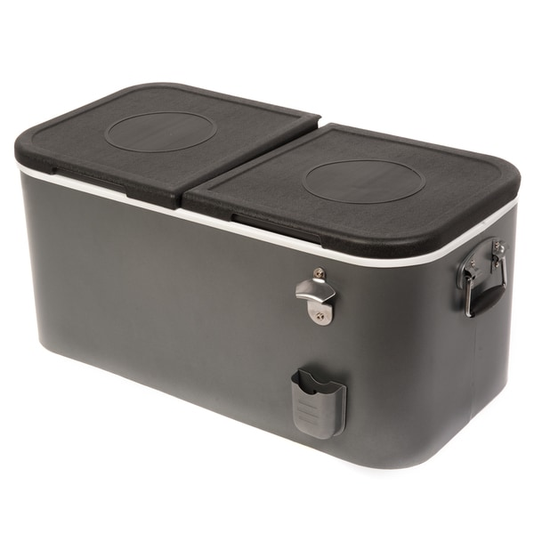 HIO 60 Qt Outdoor Picnic Cooler, Cooler Lunch Box
