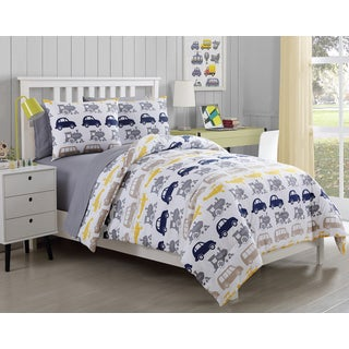 VCNY Lil Traveler 5 & 7-piece Bed in a Bag Comforter and Sheet Set
