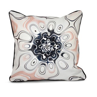 Oppositional Blend Inside Out Designs Print 16 x 16-inch Pillow