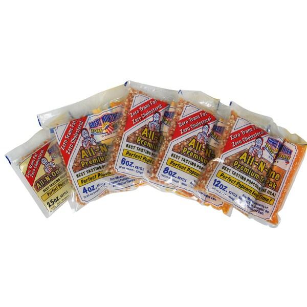 Great Northern Popcorn Premium Popcorn Portion Packs (Case of 12)