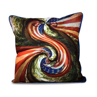 The Great Outdoors Inside Out Designs Print 16 x 16-inch Pillow