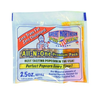 Great Northern Popcorn Case of 2.5-Ounce Popcorn Portion Packs
