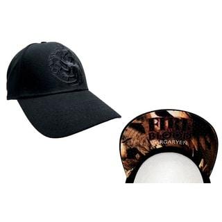 Game of Thrones Black House Targaryen Baseball Hat