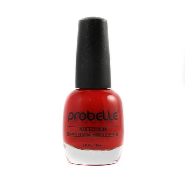 Probelle Feeling Sexy Nail Lacquer (Dark Red Cream)