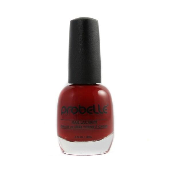 Probelle Ruby Nail Lacquer (Dark Red Cream)