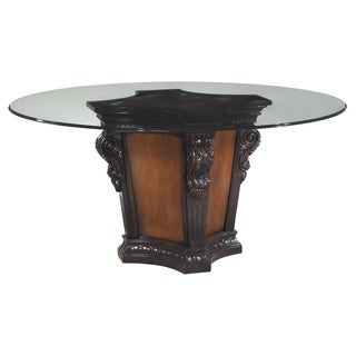 Devonwood Cinnamon Weathered Black Dining Table