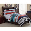 VCNY All Star Stripe 7-piece Bed in a Bag with Sheet Set