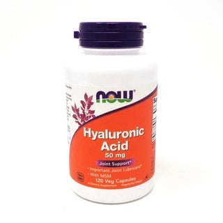 Now Foods Hyaluronic Acid With MSM (120 Veggie Caps)