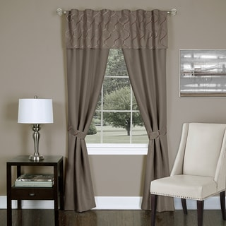 Trellis 5 Piece Window Curtain Set