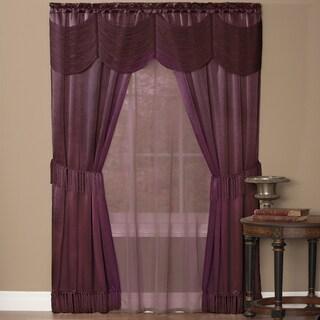 Halley 6 Piece Window Curtain Set