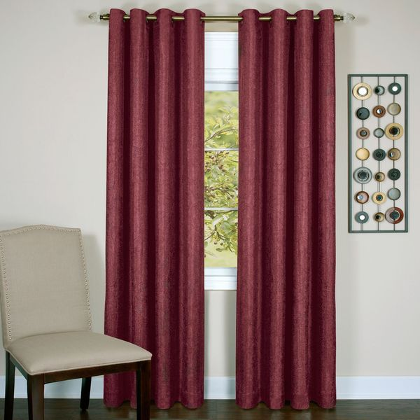 Achim Taylor 8 Grommet Lined Window Curtain Panel 18237119
