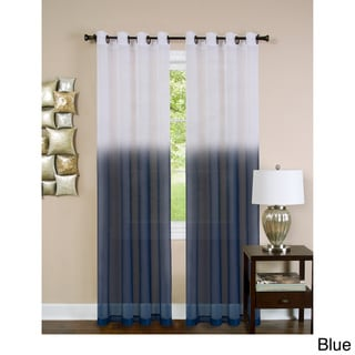Essence 8 Grommet Lined Window Curtain Panel