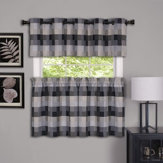Harvard Plaid Window Curtain Valance