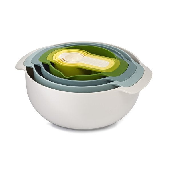 Joseph Joseph Opal Nest 9-piece Mixing Bowl Set