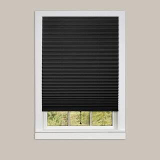 1-2-3 Vinyl Room Darkening Pleated Window Shade
