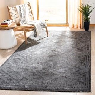 Safavieh Palazzo Black/ Grey Rug (2' 6 x 5')