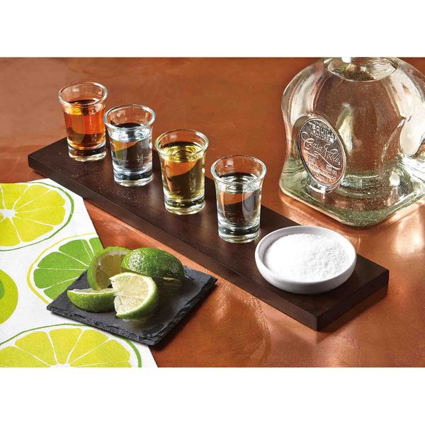 TAG Lime Accented Shot Glass (Set of 4)