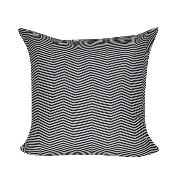 Loom and Mill 22 x 22-inch Oddball Chevron Decorative Pillow