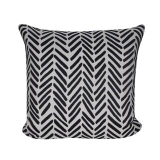 Loom and Mill 22 x 22-inch Herring Bones Decorative Pillow