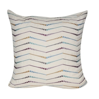 Loom and Mill 22 x 22-inch Digital Lines Decorative Pillow