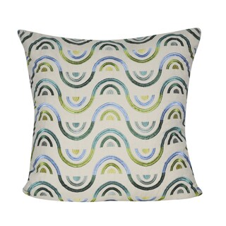 Loom and Mill 22-inch x22-inch Arcs Decorative Pillow