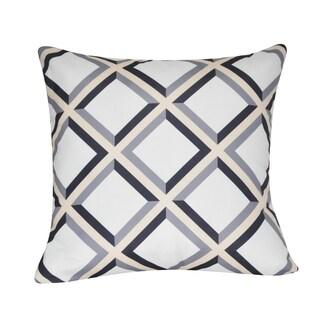 Loom and Mill 21 x 21-inch Diamond Decorative Pillow
