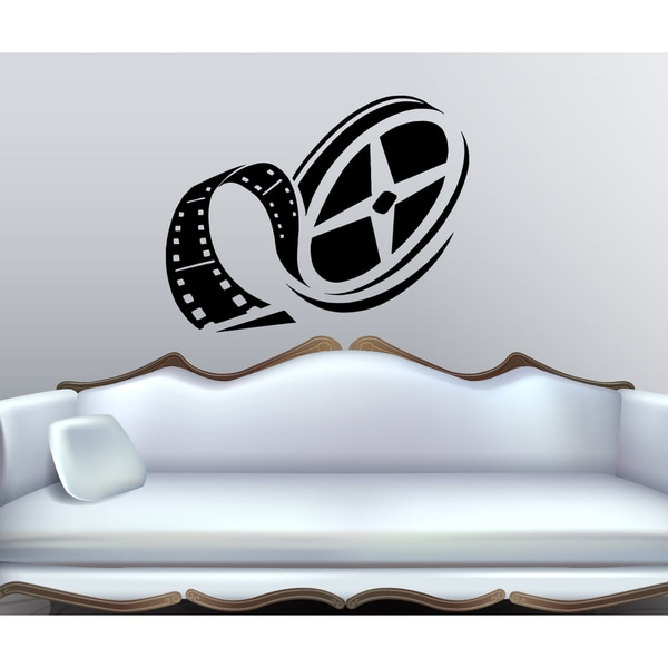 The film tape film Wall Art Sticker Decal