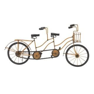 Copper Grove Chatfield Metal Wood Tandem Bicycle