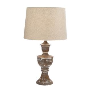 Fabulous Wood Table Lamp 28-inch
