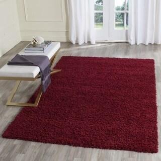 Safavieh Athens Shag Red Rug (3' x 5')